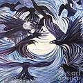 Gathering Of The Ravens by Caroline Street
