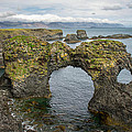 Gatklettur Arch In Hellnar by For Ninety One Days