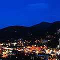 Gatlinburg Skyline At Night by Nancy Mueller