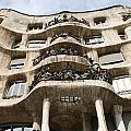 Gaudi Architecture Barcelona Spain by Bridget Brummel