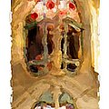 Gaudi Batllo House Of The Bones -  Painting by Weston Westmoreland