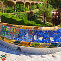 Gaudi's Park Guell - Impressions Of Barcelona by Georgia Mizuleva