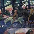 Gauguin, Paul 1848-1903. Ford Running by Everett