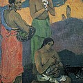Gauguin, Paul 1848-1903. Three Women by Everett