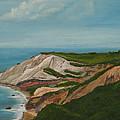 Gay Head Cliffs by Nick Robinson