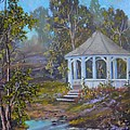 Gazebo And A Dream by Michael Mrozik
