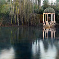 Gazebo And Lake by Terry Reynoldson