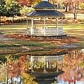 Gazebo In The Park by Cynthia Guinn