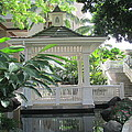 Gazebo Of The Tropics by Elaine Haakenson