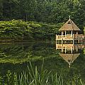 Gazebo Reflections by Guy Shultz