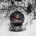 Gazing Ball Squared by Teresa Mucha