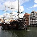 Gdynia Pirate Ship - Gdansk by Christiane Schulze Art And Photography