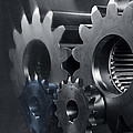 Gears And Power by Christian Lagereek
