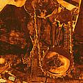 Gears In Yellow by Ann Powell