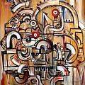 Gears Of Ganesha by Jose Gonzalez Lanza