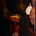 Geisha 4 From Geisha Series by Jeff Burgess