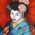 Geisha Girl by Esther Rivas