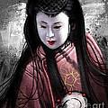 Geisha Kunoichi by Andre Koekemoer