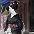 Geisha No.4 by Yoshiyuki Uchida