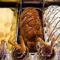 Gelato Choices Hmmmm by Jon Berghoff