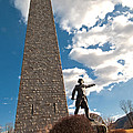 Gen. John Stark At The Bennington Battle Monument by Paul Mangold