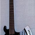 Gene Simmons Hatchet Bass Guitar by Gary Keesler