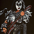 Gene Simmons Of Kiss by Paul Meijering