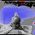 General Benjamin Argumedo's  Troop Train Unknown Mexico Location Or Date-2013 by David Lee Guss