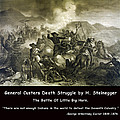 General Custers Death Struggle by H Steinegger
