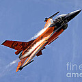 General Dynamics F-16am Fighting Falcon by Andrew Harker