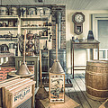 General Store - 19th Century Seaport Village by Gary Heller