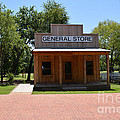 General Store At Historical Park by Ruth  Housley