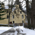 General Wayne Inn In Winter by Bill Cannon