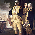 Generals At Yorktown, 1781 by Granger