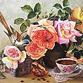 Generous Blooming by Iva Rom-Lorenz