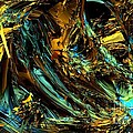 Genesis In Yellow by Bernard MICHEL