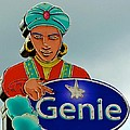 Genie Neon Sign by Kristina Deane