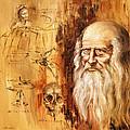 Genius   Leonardo Da Vinci by Arturas Slapsys