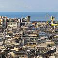 Genova. Panoramic View by Antonio Scarpi