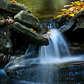 Gentle Little Falls by Paul W Faust -  Impressions of Light
