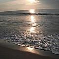 Ocean - Gentle Morning Waves by Susan Carella
