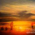 Gentle Sunset Vision by Algirdas Lukas