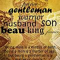 Gentleman 1 by Angelina Tamez