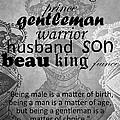 Gentleman 4 by Angelina Tamez