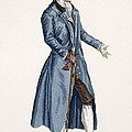 Gentleman In Blue Coat, Plate by Pierre Thomas Le Clerc