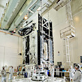 Geo-1 Satellite In Lab by Science Source