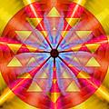 Geo-cosmic Sri Yantra by Derek Gedney