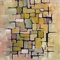 Geometric Line Series I by Patricia Cleasby