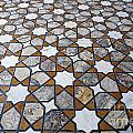 Geometric Marble Floor Design At Lahore Fort by Robert Preston