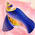 Geometric Shell Art by Deborah Benoit